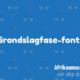 Waar om die Graad 1 font te kry (en ander Grondslagfase fonts)